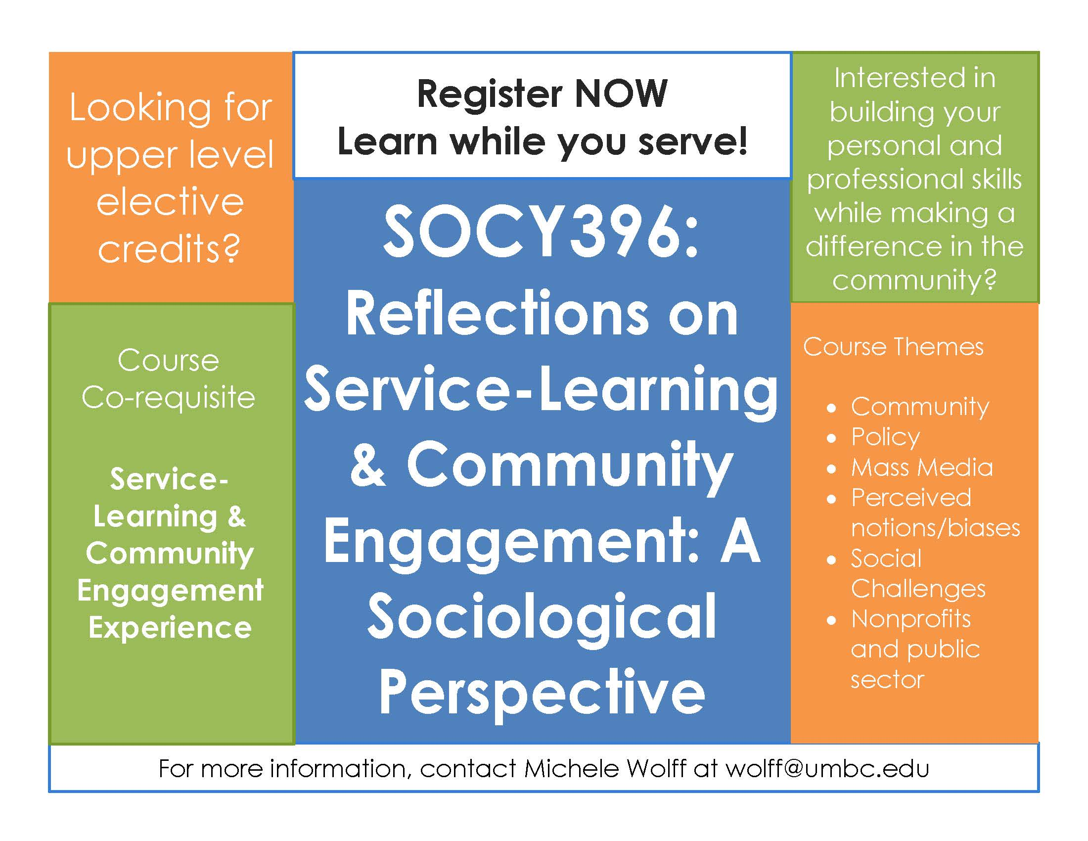 Looking for UL elective credits? Learn while you serve!